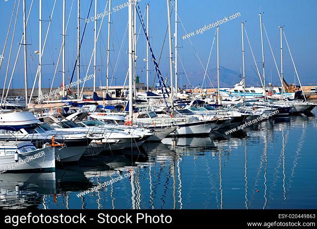 Marina in Calpe, Spain