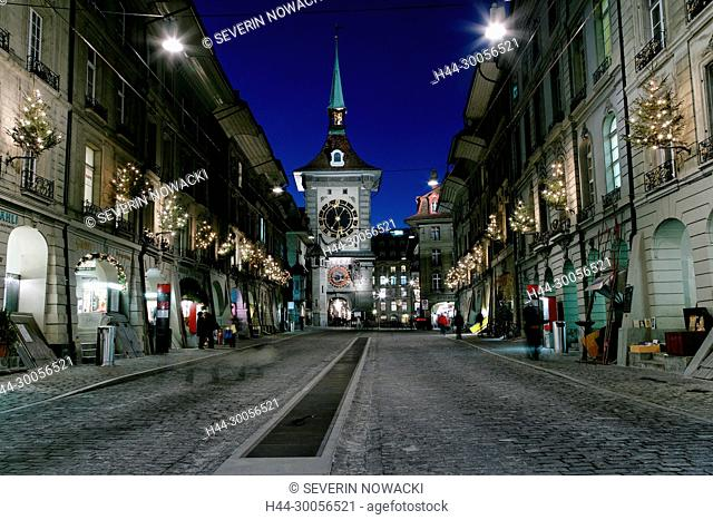 Zytglogge Chramgasse Advent in Bern