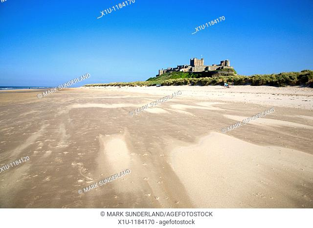 Bamburgh Castle Bamburgh Northumberland England