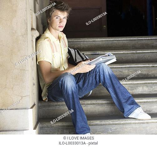 Portrait of a student