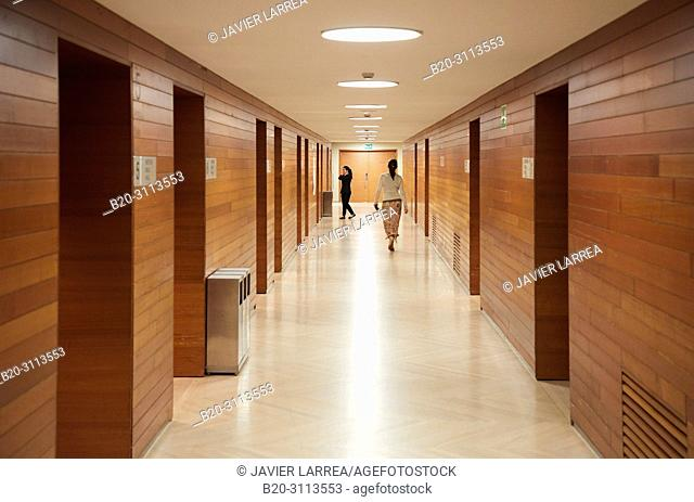Congress rooms, Kursaal Congress Palace, Donostia, San Sebastian, Gipuzkoa, Basque Country, Spain, Europe