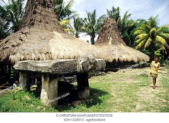 Waikabubak, Sumba island, Lesser Sunda Islands, Republic of Indonesia, Southeast Asia and Oceania