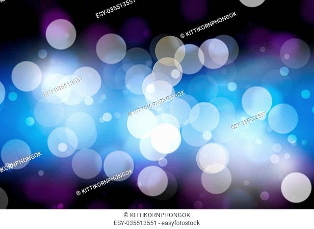 Filtered bokeh abstract background