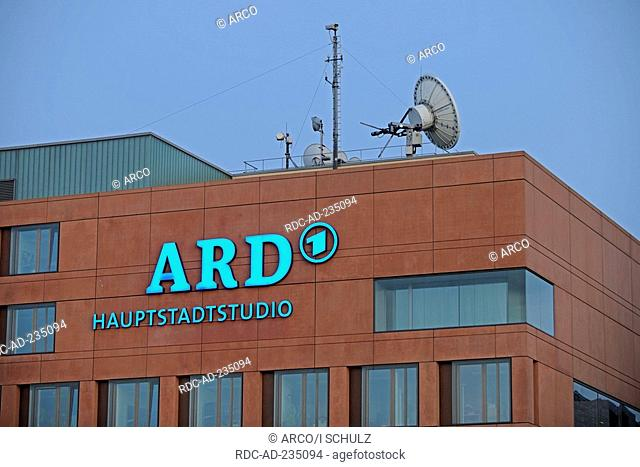 Broadcasting capital studio, Berlin, Germany, ARD