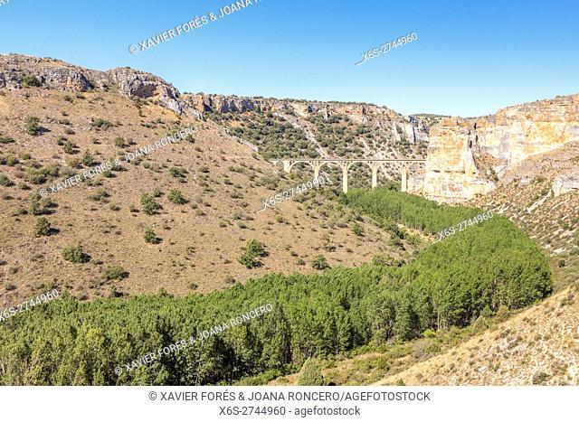 Natural Park Hoces del Río Riaza, Segovia, Spain