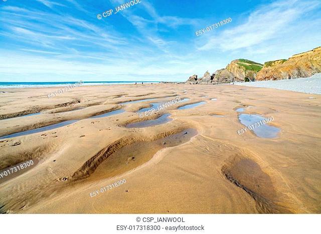 Sandymouth Cornwall England UK