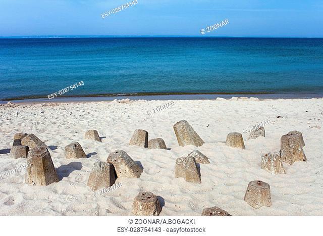Hel Beach in Poland