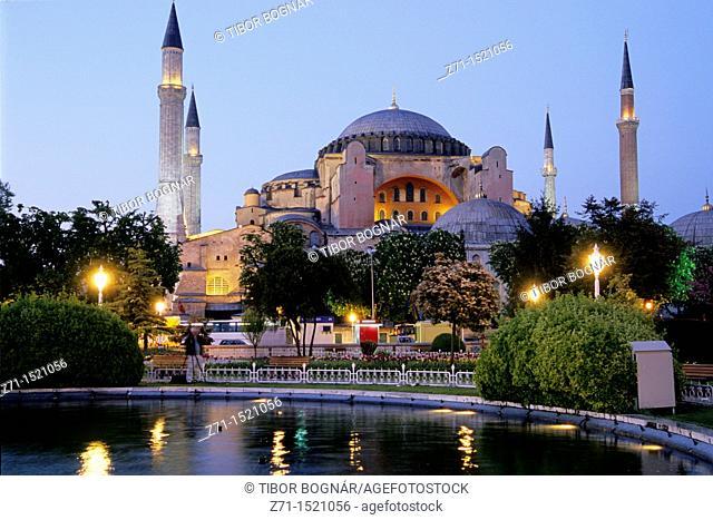Turkey, Istanbul, Aya Sofya, Sancta Sophia, Hagia Sofia
