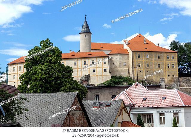 Ledec Nad Sazavou, Gothic Castle, Central Bohemia, Czech Republic