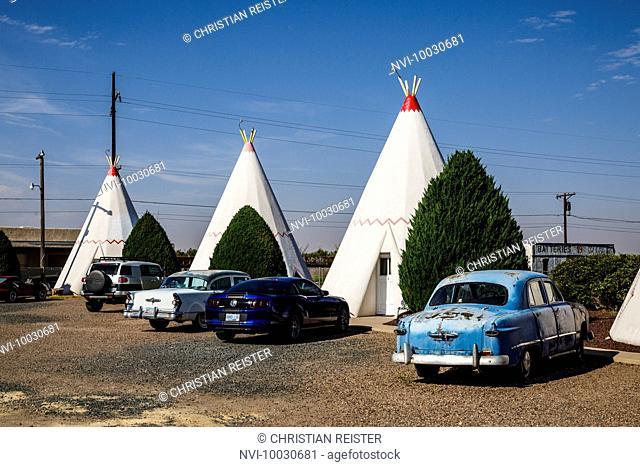 Wigwam Motel, Holbrook, Historic Route 66, Navajo County, Arizona, USA