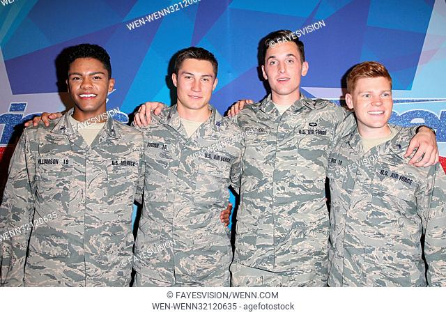 Premiere of NBC's 'America's Got Talent' Season 12 Featuring: Members of 'In the Stairwell Where: Hollywood, California, United States When: 16 Aug 2017 Credit:...