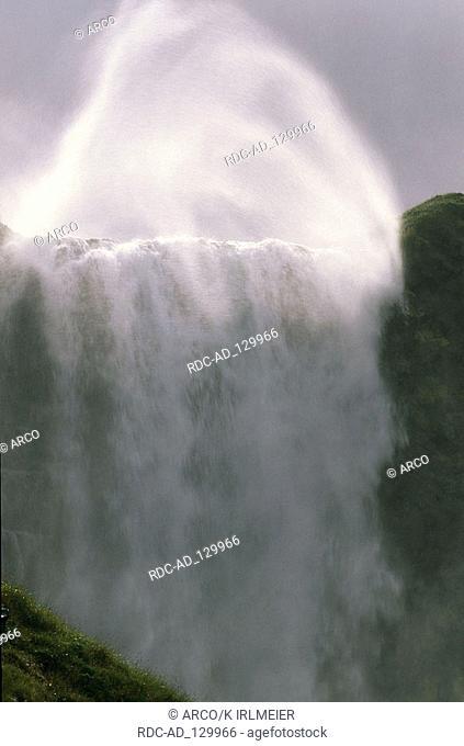 Waterfall Hellissandur Iceland