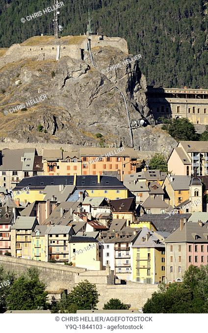 Old Town Citadel and Vauban Fortifications Briançon Hautes-Alpes France