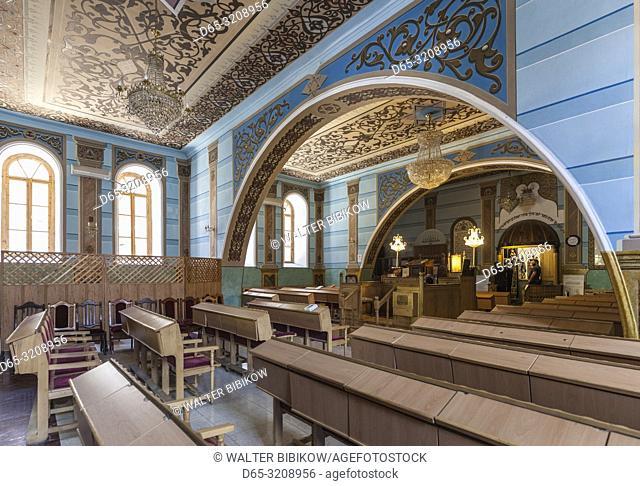 Georgia, Tbilisi, Tbilisi Great Synagogue, interior