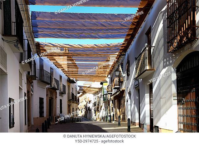 Old town of Villanueva de los Infantes, Ruta de Don Quijote, Ciudad Real, Castile-La Mancha, Spain, Europe