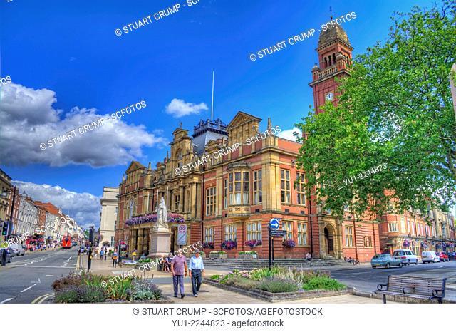 The Town Hall, Leamington Spa, Warwickshire, England, UK