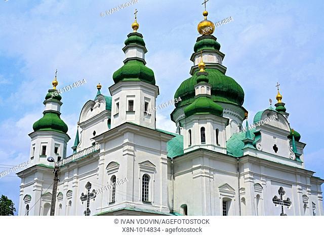 St  Trinity cathedral 18 century, St  Trinity monastery, Chernigov, Ukraine