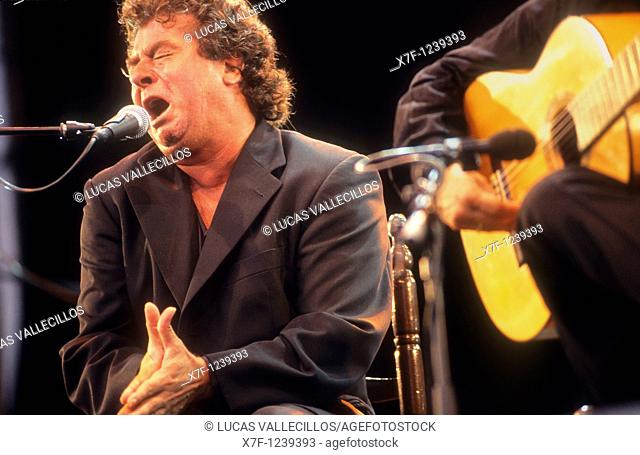`El Torta'Juan Moneo Lara Flamenco Singer Municipal Auditorium Seville, Andalusia, Spain