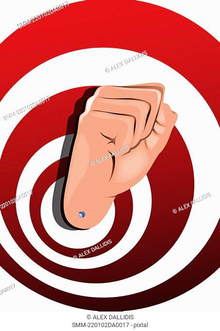 Hand sign 'fist'