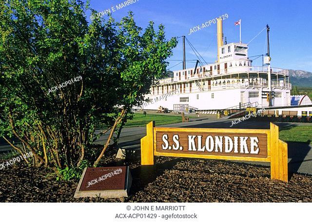 SS Klondike Paddlewheeler, National Historic Site, Whitehorse, Yukon Territory, Canada