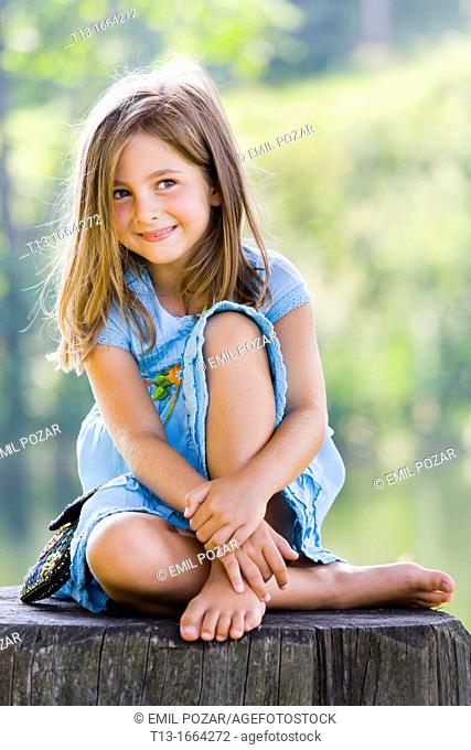 Cute 6 year old female kid