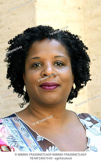 The writer Tayari Jones attends at the 18th International Literature Festival, Rome, ITALY-24-06-2019