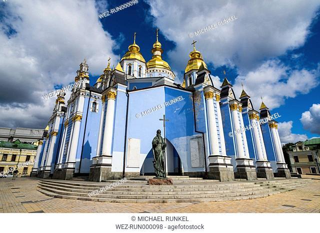 Ukraine, Kiev, St. Michael's Golden-Domed Monastery
