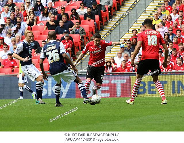 2016 Skybet League One Play Off Final Barnsley v Millwall May 29th. 29.05.2016. Wembley Stadium, London, England. Skybet League One Play Off Final
