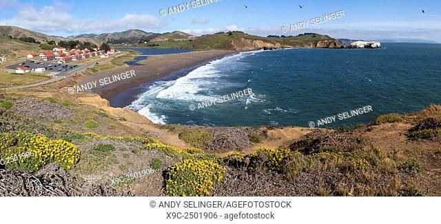 Rodeo Beach, Golden Gate National Recreation Area, San Francisco, USA