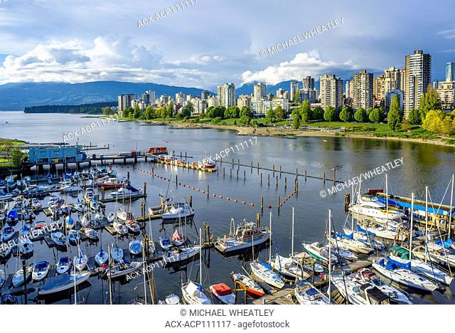 Kitsilano Coast Guard Base, Vancouver, British Columbia, Canada