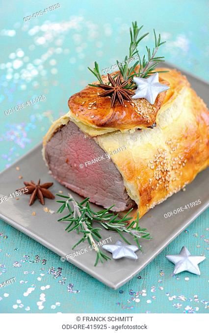 Roastbeef in a crust