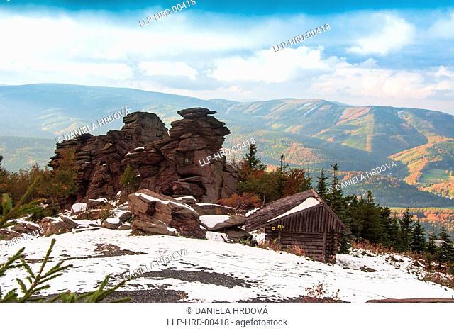 Panorama, Jeseniky, Czech Republic, Europe