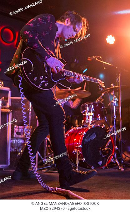 Madrid, Spain- April 25: Ryan Mcgarvey performs in concert at Sala Clamores on april 25,2019 in Madrid, Spain (Photo by: Angel Manzano)