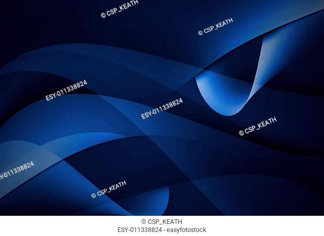 abstract curve blue background