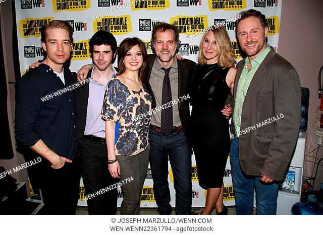 Opening night of The Undeniable Sound of Right Now at the Rattlestick Theater - Arrivals. Featuring: Daniel Abeles, Brian Miskell, Margo Seibert, Jeb Brown