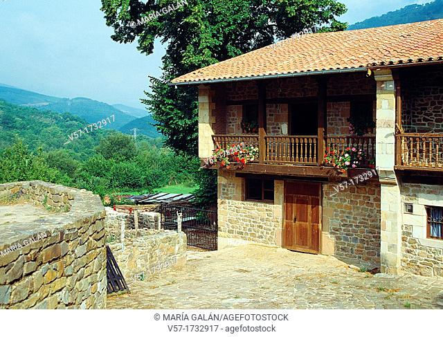 Rural house  Barcena Mayor, Cantabria province, Spain
