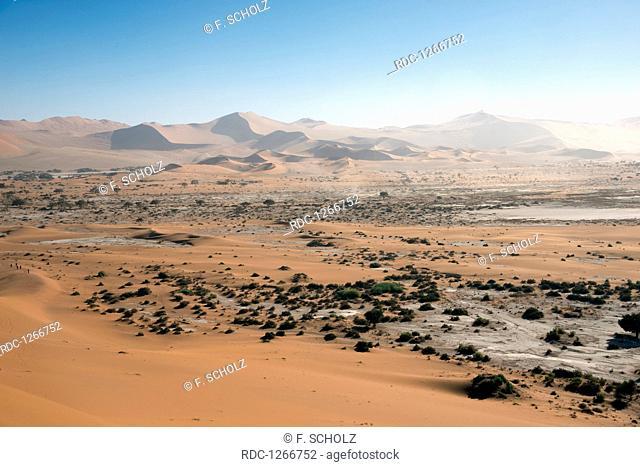 Sand dunes, Namib-Naukluft Park, Namib Desert, Namibia