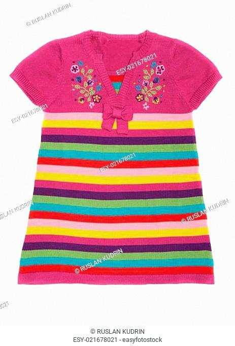 Color baby clothes