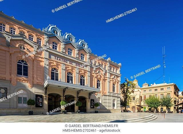 Spain, Murcia Community, Murcia, theater