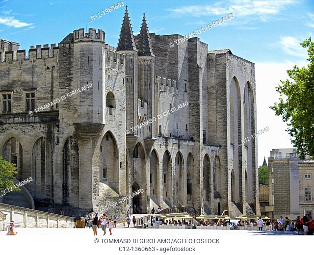 France, Avignon, Palace of the Popes