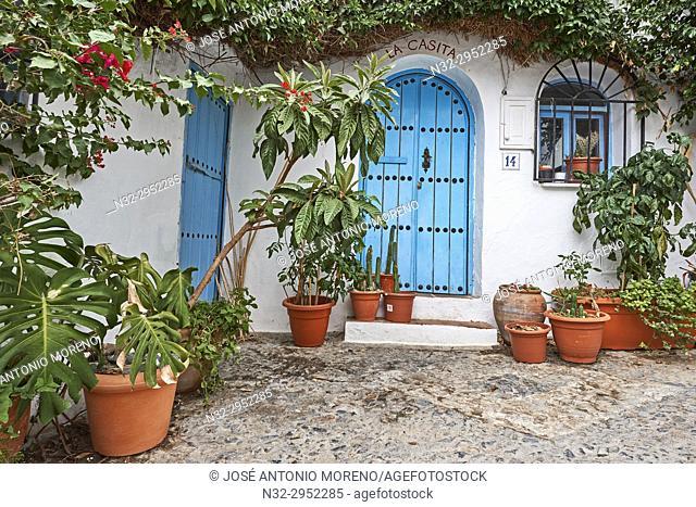 Frigiliana, Axarquia, Costa del Sol, Malaga province, Andalusia, Spain