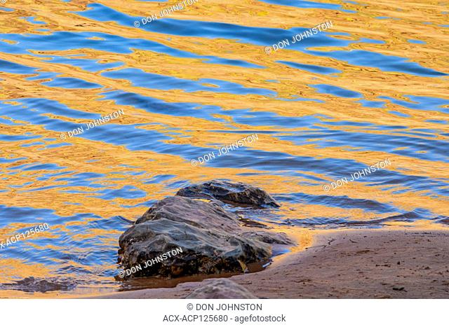 Reflections in the Colorado River, Grand Canyon National Park, Arizona, USA
