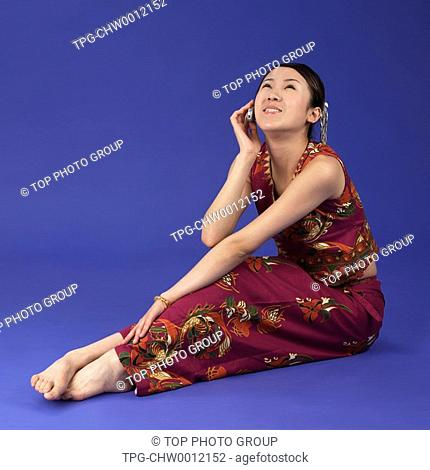 a woman of Dai Ethnic