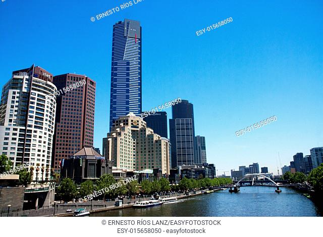 It is a skyscraper located in Victoria, Melbourne. Construction began in 2002 and was completed in 2006. It is one of the ten tallest buildings in the world...