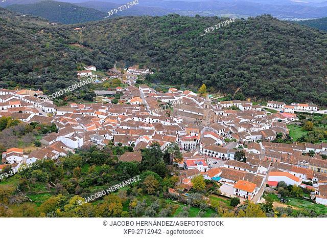 Alájar.Sierra de Aracena y Picos de Aroche Natural Park.Huelva province.Andalusia.Spain