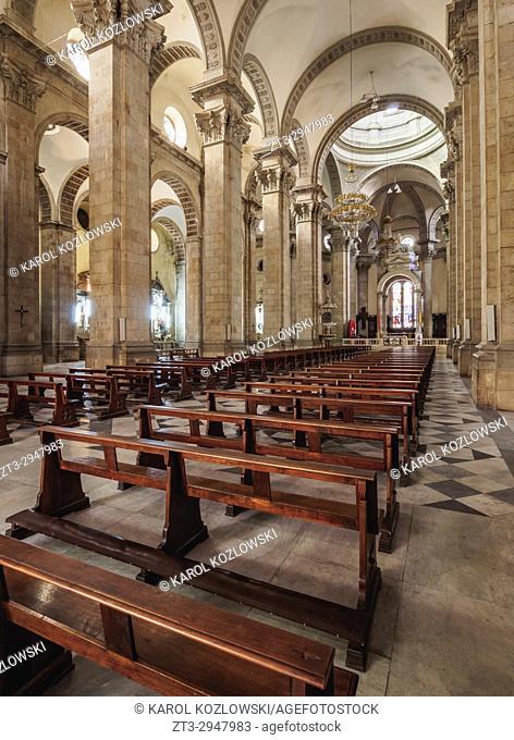 Cathedral Basilica of Our Lady of Peace, interior, La Paz, Bolivia