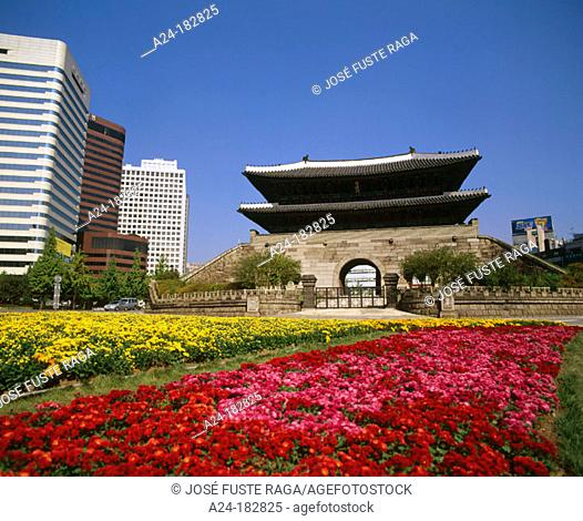 Sungnyemun (Great South Gate). Seoul. South Korea