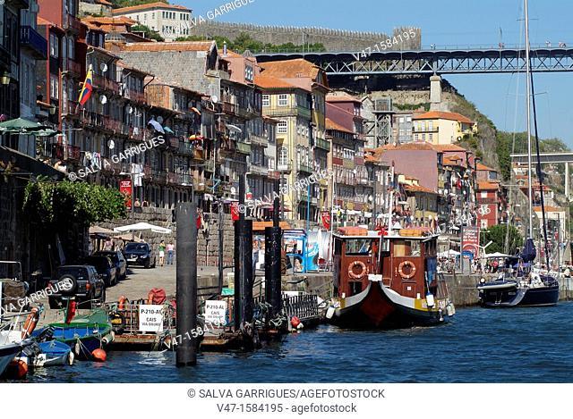 Port and the Douro, Porto, Porto, Porugal, Europe