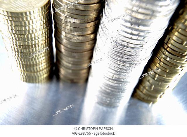 Euro Coins.  - Bonn, Nordrhein-Westfalen, GERMANY, 16/05/2006