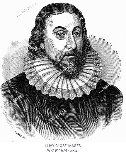 John Winthrop (1588-1649) was born in England and later came to the Massachusetts Bay Colony where he served as governor
